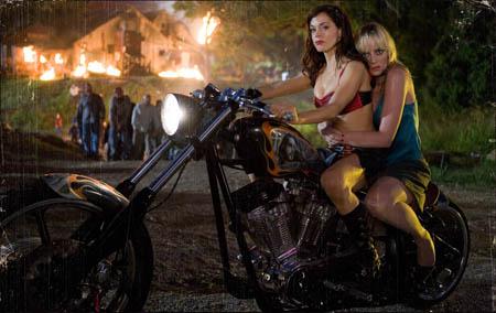 Piger på cykel